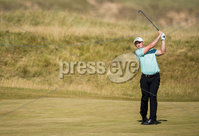 2018 Dubai Duty Free Irish Open - Day 1, Ballyliffin Golf Club, Co. Donegal 5/7/2018. Paul Dunne on the 15th fairway. Mandatory Credit ©INPHO/Oisin Keniry