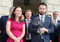 Press Eye - SDLP Announce New Deputy Leader - 12th September 2017. Photograph by Declan Roughan. Following a meeting of the SDLP Parliamentary Assembly Group, the party Leader Colum Eastwood MLA announced Nichola Mallon as the new SDLP Deputy Leader.. The North Belfast MLA  will be formally ratified at the party\'s annual general meeting on 7 October..