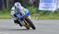 Mandatory Credit: Rowland White/Presseye. Motor Cycle Racing: Tandragee 100. Venue: Tandragee. Date: 05th April 2012. Caption: Paul Robinson, 125cc Aprilia