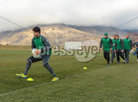 Ireland Training, Queensland Events Centre Queenstown, New Zealand 20/6/2012. Conor Murray during training. Mandatory Credit ©INPHO/Billy Stickland