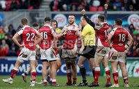 European Rugby Champions Cup Round 5, Kingspan Stadium, Belfast 13/1/2018. Ulster vs La Rochelle. Ulster celebrate at the final whistle. Mandatory Credit ©INPHO/Tommy Dickson