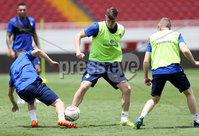 Press Eye - Belfast -  Northern Ireland - 02nd June 2018 - Photo by William Cherry/Presseye. Northern Ireland\'s Paddy McNair pictured during Saturday mornings training session at the Nuevo Estadio Nacional de Costa Rica in San Jose ahead of Sundays Friendly International against Costa Rica.. Photo by William Cherry/Presseye