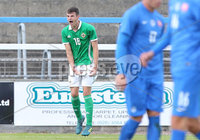 Press Eye Belfast - Northern Ireland 7th September 2018. U19 International Challenge Match - Northern Ireland Vs Slovakia at The Showgrounds, Newry.. Northern Ireland\'s Liam Smyth celebrates after scoring to make it 2-1. . Picture by Jonathan Porter/PressEye.com