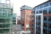 Press Eye Belfast - Northern Ireland 11th April 2019. General view of Victoria Square apartments in Belfast City Centre where residents were told to evacuate due to structural concerns with the building. . Picture by Jonathan Porter/PressEye.com