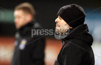 Danske Bank Premiership, Stangmore Park, Dungannon, Co. Tyrone 13/1/2018. Dungannon Swifts vs Coleraine. Dungannon\'s manager Rodney McAree. Mandatory Credit ©INPHO/Matt Mackey
