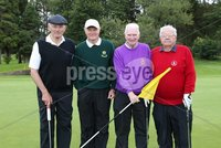 1 September 15 -   Picture by Darren Kidd / Press Eye.. Hillsborough Oyster Festival 2015:. The Oyster Masters at Lisburn Golf Club:  Wilmer Kirk, Fred Walsh, Gordon Kirkpatrick and Sam Poole