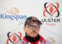 Press Eye Belfast - Northern Ireland 6th December 2017. Ulster Rugby press conference at the Kingspan Stadium in east Belfast ahead of their European Rugby Champions Cup match against Harlequins at Twickenham on Sunday. . Director of Rugby Les Kiss.. Picture by Jonathan Porter/PressEye.com
