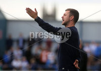 Danske Bank Premiership, Showgrounds, Coleraine 4/8/2018. Coleraine vs Warrenpoint. Warrenpoint manager Stephen McDonnell. Mandatory Credit ©INPHO/Lorcan Doherty