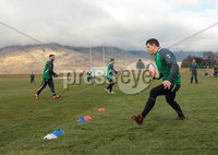 Ireland Training, Queensland Events Centre Queenstown, New Zealand 20/6/2012. Ireland  captain Brian O\'Driscoll during training. Mandatory Credit ©INPHO/Billy Stickland