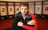24 November 15 - Picture by Darren Kidd / Press Eye..  Ulster\'s Iain Henderson during a press conference at Kingspan Stadium ahead of this weeks away match against Leinster.