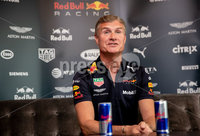 REPRO FREE***PRESS RELEASE NO REPRODUCTION FEE*** EDITORIAL USE ONLY . Red Bull F1 Belfast Showrun Press Conference, Grand Central Hotel, Belfast 2/11/2018. Touching down on Irish soil this November, the Red Bull F1 Showrun is a once in a lifetime chance to experience the power of a Formula 1 car up close. . Belfast City will host this iconic World Champion car for one spectacular weekend in a true celebration of everything motorsports. Join 13-time Grand Prix winner, David Coulthard as he jumps behind the wheel once again on Saturday, 3rd of November at 8 pm. Kicking off at 8.00pm in front of Belfasts City Hall, this FREE event will feature David Coulthard performing numerous tricks and spins at speed along with some other two and four wheeled surprises for spectators.. Watching F1 on a screen can be electrifying but nothing compares to the ear-splitting roar of the engine, the haze of tire smoke and aroma of burning rubber of being up close and personal with this epic car.. With a crowd of up to 30 thirty thousand expected, this is sure to be a loud one! #F1Belfast. Pictured today is 13-time Grand Prix winner David Coulthard at a press conference ahead of the Red Bull F1 Belfast Showrun. Mandatory Credit INPHO/Morgan Treacy