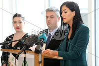 Press Eye - Sinn Feinn Manifesto launch - Galgorm Hotel - Ballymena -  5th April 2019. Photograph by Declan Roughan. Sinn Fin launches party Manifesto for Local Government Elections 2019. Patrice Hardy speaking at the conference.