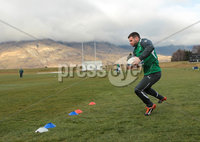 Ireland Training, Queensland Events Centre Queenstown, New Zealand 20/6/2012. Fergus McFadden during training. Mandatory Credit ©INPHO/Billy Stickland