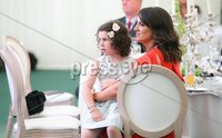 Press Eye - Belfast - Northern Ireland - 8th September 2018 - . Rory Best\'s wife Jodie and son Richie, pictured at the Archbishop's Palace in Armagh along with friends and family of Dr Rory Best OBE to witness the sportsman's conferment with the Freedom of the Borough of Armagh City, Banbridge and Craigavon..  . Photo by Kelvin Boyes / Press Eye..