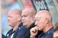 ©Press Eye Ltd Northern Ireland - 11th August  2012. Mandatory Credit - Picture by Darren Kidd/Presseye.com .   . Danske Bank Premiership, Ballymena United v Linfield FC.. Linfield manager David Jeffrey