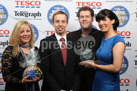 Press Eye - Belfast - Northern Ireland . 2012 Belfast Telegraph Making The Difference Awards  supported by TESCO.. Best Streetsponsored by Airtricity and Presented by Josh Bradley, Corporate Communications Manager, Airtricity to Jeannete Myles,Nial Ringrow and Gillian Parker from the . Winner\'s Shaw Street.  Mandatory credit: Picture by Brian Thompson/ Presseye.com. . .