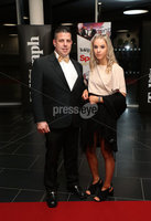 Press Eye - Belfast - Northern Ireland - 14th January 2019.. Jason McKew and Jodie McKew pictured at the  Belfast Telegraph Sports Awards 2018 in the ICC Belfast.. Photo by Kelvin Boyes / Press Eye..