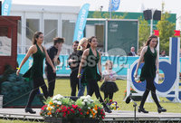 Press Eye - Belfast - Northern Ireland - 16th May 2019. Day two of the Balmoral Show in partnership with Ulster Bank at Balmoral Park outside Lisburn. Irish Dancers at the show. .  . Picture by Jonathan Porter/PressEye