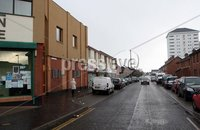 "Mandatory Credit - Picture by Freddie Parkinson/Press Eye ©. Wednesday 29 November 2017. Two men arrested under Terrorism Act as searches carried out in the New Lodge area of North Belfast.. A number of people were temporarily evacuated from their homes as two men were arrested under the Terrorism Act as police carry out searches in North Belfast.. Two men, aged 36 and 37, have been arrested.. Detective Inspector Andy Workman said: ""Detectives from the Serious Crime branch are currently carrying out a number of searches in the Antrim Road / Duncairn Gardens area of north Belfast."
