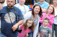 Press Eye - Larne Summer Festival Parade - 4th June 2016. Photograph Declan Roughan / Presseye. The carnival passes along Main Street in Larne.