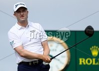 2018 Dubai Duty Free Irish Open, Ballyliffin Golf Club, Co. Donegal 8/7/2018. Russell Knox on the 17th tee box. Mandatory Credit ©INPHO/Oisin Keniry