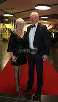 Press Eye - Belfast - Northern Ireland - 14th January 2019.. BELFAST TELEGRAPH SPORTS AWARDS 2018. Pamela Ballantine and Alan Graham pictured at the  Belfast Telegraph Sports Awards in the ICC Belfast.. Photo by Matt Mackey / Press Eye.