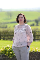 Press Eye - Belfast - Northern Ireland - 6th April 2020 -  . DUP councillor Kathryn Owen who will this week start working at a hospital site dedicated to Covid-19 patients.. She is pictured at her Saintfield home.. Photo by Kelvin Boyes / Press Eye..  .
