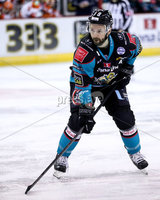 Press Eye - Belfast -  Northern Ireland - 06th January 2019 - Photo by William Cherry/Presseye. Belfast Giants\' Colin Shields during Sunday afternoons Elite Ice Hockey League game at the SSE Arena, Belfast.    Photo by William Cherry/Presseye