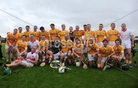 Ulster GAA Senior Hurling Championship Final - Antrim v Derry - 8th July 2012. Copyright Presseye.com. Mandatory Credit Declan Roughan / Presseye. Antrim celebrate winning the Ulster Hurling Championship