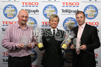 Press Eye - Belfast - Northern Ireland . 2012 Belfast Telegraph Making The Difference Awards  supported by TESCO.. Best Neighbour presented by Judith Gillespie, Deputy Chief Constable, PSNI to Winners – Paddy Douglas & Alistair Parr .  Mandatory credit: Picture by Brian Thompson/ Presseye.com. . .