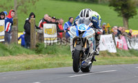 Mandatory Credit: Rowland White / PressEye. Motor Cycle Racing: 57th Tandragee 100 . Venue: Tandragee. Practice Day. Date: 21st April 2017. Caption: Head down for William Dunlop