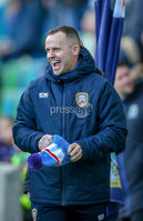 Danske Bank Premiership, Windsor Park, Belfast 9/2/2019. Linfield vs Coleraine. Coleraine manager Rodney McAree. Mandatory Credit INPHO/Matt Mackey