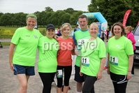 Press Eye - Belfast - Northern Ireland - 5th June 2016 - . Members of Ormeau Runners take part in the first ever Centra 5k pairs run for Action Cancer at Ormeau Park.. Over 100 families, friends and colleagues paired up today (Sunday 5th June) for the inaugural Centra Run Together event at Ormeau Park, raising vital funds for local charity Action Cancer. . Run Together is a set of four 5k races taking place across Belfast, Mid Ulster and Derry between June and October which encourage you to run with your partner, son, daughter, friend or neighbour. . Picture by Kelvin Boyes / Press Eye . .