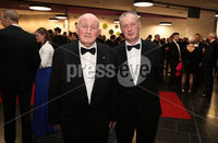 Press Eye - Belfast - Northern Ireland - 14th January 2019.. Patrick Doherty and Michael Doherty pictured at the  Belfast Telegraph Sports Awards 2018 in the ICC Belfast.. Photo by Kelvin Boyes / Press Eye..