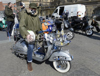 13th April 2019. David Sergeant from Belfast pictured at the annual Easter egg ride out in aid of the Royal Children\'s hospital.. Mandatory Credit -Presseye/Stephen Hamilton .