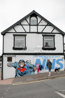 PressEye - Belfast - Northern Ireland - 17th May 2020. Pictured: A tribute to NHS workers at the junction of the Ballyregan Road and Upper Newtownards Road. . Picture: Philip Magowan / PressEye