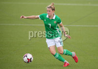 Press Eye - Belfast - Northern Ireland - 8th October 2019. European Women\'s U19 Championship 2020 Qualifying Round -  Northern Ireland Vs Norway, Seaview. Northern Ireland\'s Rebecca McKenna. . Picture by Jonathan Porter/PressEye