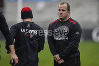 ©Russell Pritchard 27th November 2014 . Ulster Captains Run at Kingspan Stadium, Ravenhill, Belfast before their Guinness Pro12 Game against Munster at Thomond Park Stadium, Limerick.. Ulsters Calum Black. ©Russell Pritchard / Presseye.
