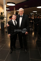 Press Eye - Belfast - Northern Ireland - 14th January 2019.. Paddy Barnes and Wille John McBride pictured at the  Belfast Telegraph Sports Awards 2018 in the ICC Belfast.. Photo by Kelvin Boyes / Press Eye..