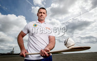 REPRO FREE***PRESS RELEASE NO REPRODUCTION FEE***. Topaz Cash for Clubs Launch, Dublin 17/5/2017. Pictured at the launch of Cash for Clubs is Topaz ambassador Alan Quinlan.. Topaz is encouraging people from across Ireland to go the extra mile for there local community to be in with a chance to win up to €10,000 for a club of their choice. A total of €200,000 in cash prizes will be up for grabs over the course of the next 12 weeks.. For more information and how to enter see www.playorpark.ie/cashforclubs. Mandator Credit ©INPHO/James Crombie