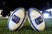 European Rugby Champions Cup Round 4, Kingspan Stadium, Belfast 15/12/2017. Ulster vs Harlequins. A view of the match balls. Mandatory Credit ©INPHO/Tommy Dickson