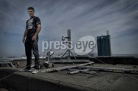 Press Eye - Belfast - Northern Ireland - 3rd May 2012. Europa Hotel, Belfast – Prizefighter Press Conference. The eight contenders for Saturday night's all-Irish Betfair Prizefighter Middleweights will in attendance.. Dungivens Eamon O\'Kane. ©Russell Pritchard / Presseye