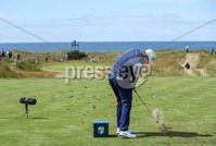 2018 Dubai Duty Free Irish Open - Day 1, Ballyliffin Golf Club, Co. Donegal 5/7/2018. Lee Westwood tees off on the fifth hole . Mandatory Credit ©INPHO/Oisin Keniry
