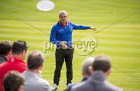 REPRO FREE***PRESS RELEASE NO REPRODUCTION FEE***. Paul McGinley Golf Academy opens to the public. at Mount Juliet Estate 8/9/2017. Ryder Cup-winning captain Paul McGinley has officially hit the 1st ball at the Paul McGinley Golf Academy at Mount Juliet Estate on September 8th, opening this exciting facility to the public. Paul is seen here demonstrating the philosophy underlying the game management approach of the Paul McGinley Golf.. For more information contact Gillian Duke Tel - 0879050287 Email - gillian@hostandcompany.ie. Mandatory Credit ©INPHO/Morgan Treacy