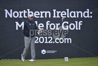 ©Russell Pritchard / Presseye  - 27th June 2012. Irish Open Pro-Am 2012 at The Royal Portrush. Darren Clarke. ©Russell Pritchard / Presseye