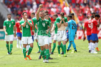 Press Eye - Belfast -  Northern Ireland - 03rd June 2018 - Photo by William Cherry/Presseye. Northern Ireland\'s Aaron Hughes after the final whistle of Sunday mornings International Friendly against Costa Rica at the Nuevo Estadio Nacional de Costa Rica in San Jose.   Photo by William Cherry/Presseye