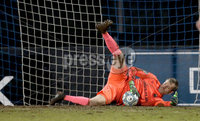 Danske Bank Premiership, Mourneview Park, Co. Armagh 3/4/2018 . Glenavon vs Linfield. Mandatory Credit ©INPHO/William Cherry. Linfield goalkeeper Roy Carroll
