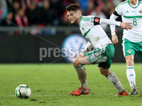 Press Eye - Belfast -  Northern Ireland - 12th November 2017 - Photo by William Cherry/Presseye. Northern Ireland\'s Oliver Norwood during Sunday nights World Cup Play Off 2nd leg game at St. Jakob-Park, Basel.