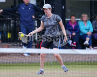 Press Eye Belfast - Northern Ireland 14th July 2017. Co. Antrim Tennis semi-finals at Ballycastle Tenni sClub.. Christine Duncan. Picture by Jonathan Porter/PressEye.com.