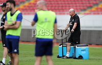 Press Eye - Belfast -  Northern Ireland - 02nd June 2018 - Photo by William Cherry/Presseye. Northern Ireland\'s kitman Stephen Ferguson ready to get cold drinks for the players in the heat of Saturday mornings training session at the Nuevo Estadio Nacional de Costa Rica in San Jose ahead of Sundays Friendly International against Costa Rica.. Photo by William Cherry/Presseye
